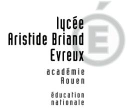 Logo Lycée Aristide Briand Académie